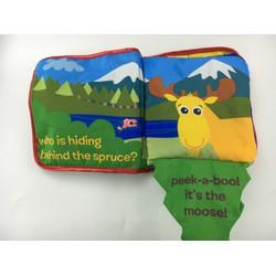 Sách vải Peek a boo Forest