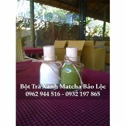 Bột trà xanh matcha handmade