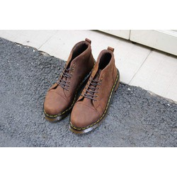 Giày Dr Martens cổ lửng made in Thailand