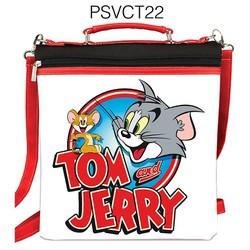 Balo vuông in hình tom and jerry