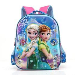 Ba lô đị học 6D công chúa ELsa và Anna