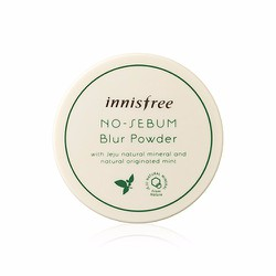 Phấn phủ dạng bột cho da dầu Innisfree No Sebum Blur Powder