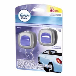 Tinh dầu thơm Febreze Car Vent Clips - Midnight Storm, 2ml x 2