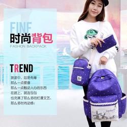 Combo 3 món  gồm balo,túi đeo chéo,ví cầm tay xinh xắn cho các bạn nữ