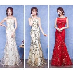 Váy cưới đuôi cá - M532
