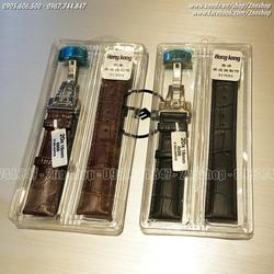 Dây đồng hồ khóa bướm inox 2 nút bấm 18mm 20mm 22mm 24mm - Mã số:D1612