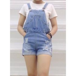 Bộ yếm jean size S, M, L
