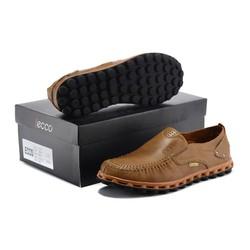 Giày lười nam chính hãng chất liệu mềm tốt
