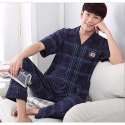 Bộ đồ ngủ pyjama nam thời trang cao cấp 2016 - #215