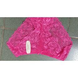 quần lót ren hoa hồng