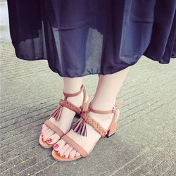 Sale off - size 35 - Giày cao gót bính rua CG18