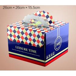 bộ hộp và đế bánh gato 25cm giá chỉ 25k