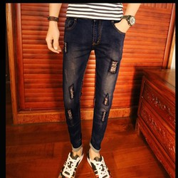 Mã số ĐN1051  - Quần jeans nam phong cách,cá tính