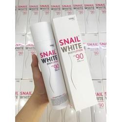 Kem kích trắng ốc sên White Body Thái Lan