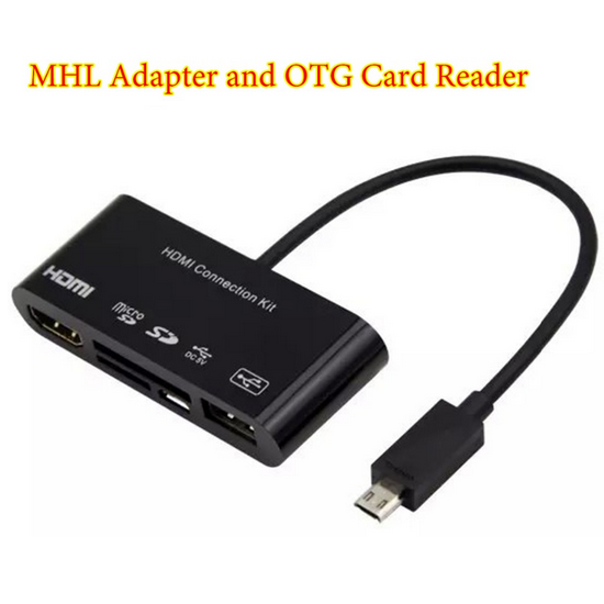 Cáp HDMI Kit OTG Card Reader cho Samsung Galaxy S3  S4  Note 2 1
