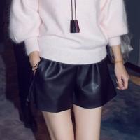 quần short da