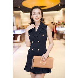 Đầm Giả Vest Sang Trọng - D207