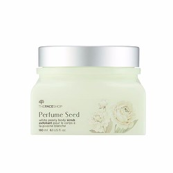 PERFUME SEED WHITE PEONY BODY SCRUB của The Face Shop
