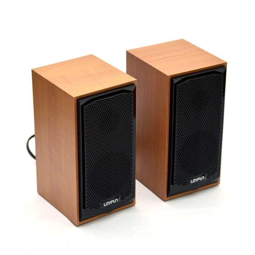 Loa máy tính LOYFUN M22 âm thanh tốt-TM shop - LOYFUN M22 chất lượng tốt