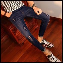 Mã số MM1051 - Quần jeans nam trẻ trung cá tính