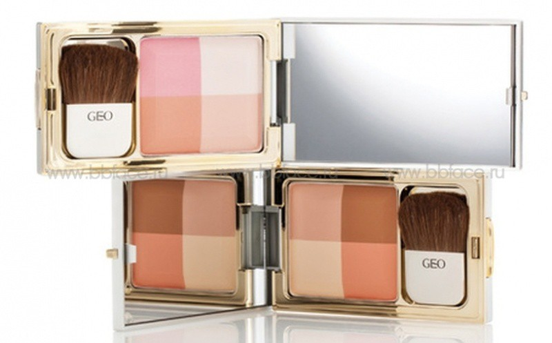Phấn má Hồng GEO Soft Color Face Touch 3