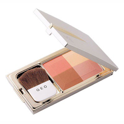 Phấn má Hồng GEO Soft Color Face Touch 4