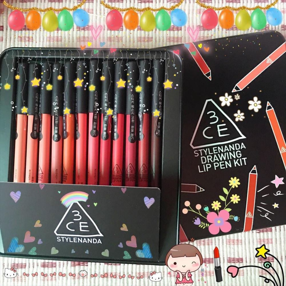 Son môi 3CE STYLENANDA DRAWING LIP PEN