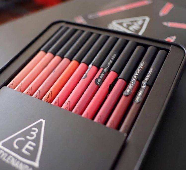Son chì 3CE Drawing lip pen 7