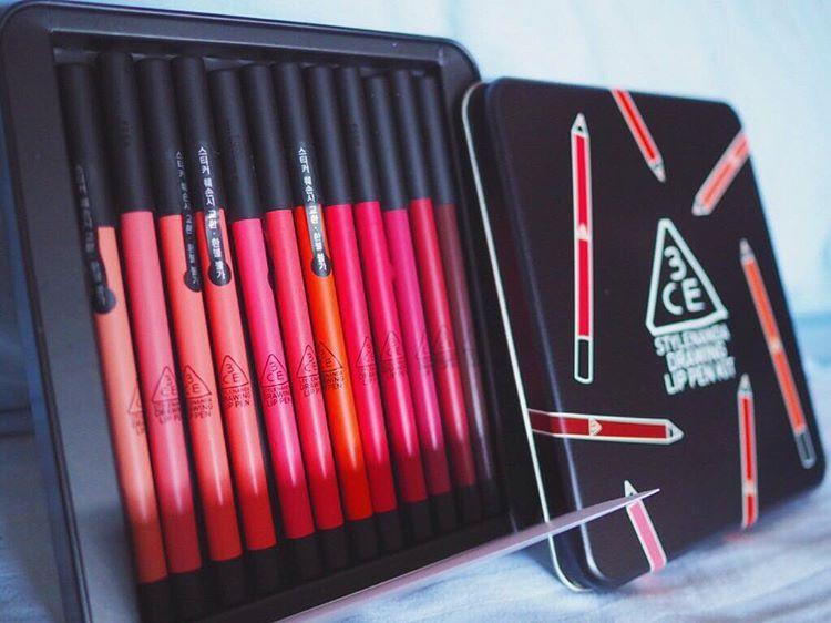 Son chì 3CE Drawing lip pen 9