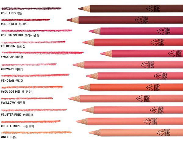 Son chì 3CE Drawing lip pen 10