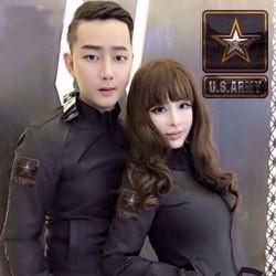 Áo khoác cặp logo ngôi sao US ARMY