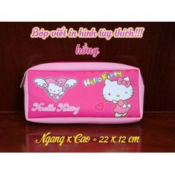 Bóp viết in hình hello kitty - BVH001