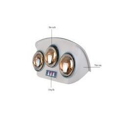 Đèn sưởi nhà tắm Sanaky 3 bóng SNK-3B