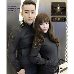 Áo khoác cặp US ARMY ngôi sao