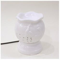 Công đôi điêu khắc - Đèn xông tinh dầu gốm Bát Tràng