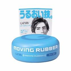 Sáp vuốt tóc gastby moving rubber cool wet xanh lam