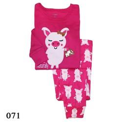 071 Bộ bé gái Carters - Pig Shopping - Tinker Bell Kids