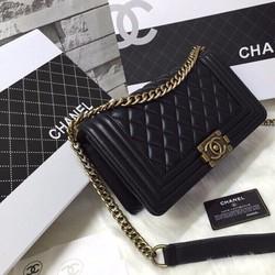 Túi xách Chanel super F da mịn