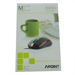 Chuột quang có dây Apoint M2 chất lượng tốt-TM shop
