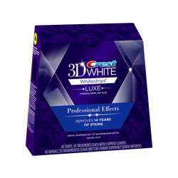 Hộp 40 miếng dán trắng răng 3D Crest White Professional Effects từ Mỹ