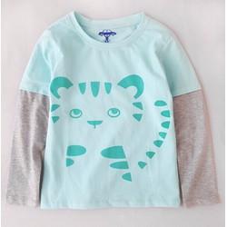 Áo thun dài tay chú mèo