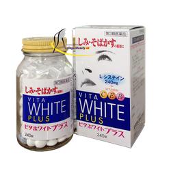 Viên uống trắng da trị nám tàn nhang Vita White Plus CEB2 240 viên