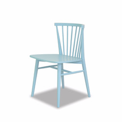 Ghế ăn REQUIN CHAIR  màu  Dusty Blue