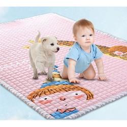 Thảm nằm chơi em bé cao cấp kiểu dáng Hàn Quốc