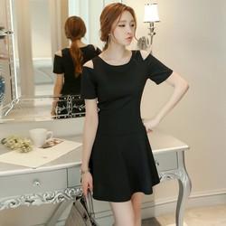 Hàng nhập - Đầm xẻ vai phong cách Hàn Quốc