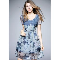Đầm nữ thời trang, họa tiết