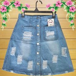 Váy jean thời trang trẻ trung