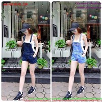 Quần yếm jean short túi đơn giản đáng iu QYB142