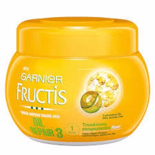 Kem ủ tóc Garnier Fructis phục hồi hư tổn 300gr Đức