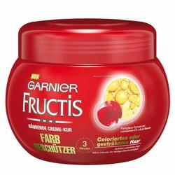 Kem ủ tóc Garnier Fructis dành cho tóc nhuộm 300gr Đức
